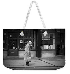Walking Down The Street Weekender Tote Bag by Chevy Fleet