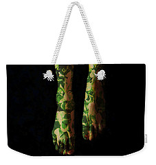 Walking In Clover Weekender Tote Bag by Donna Blackhall