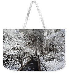 Walking Into The Infrared Jungle 1 Weekender Tote Bag