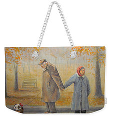 Walking Miss Daisy Weekender Tote Bag