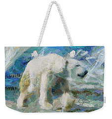 Cold As Ice Weekender Tote Bag by Greg Collins