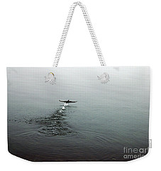 Walking On Water Weekender Tote Bag by Randi Grace Nilsberg