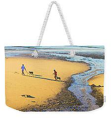 Walking The Dogs Weekender Tote Bag