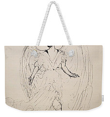Walking With An Angel Weekender Tote Bag