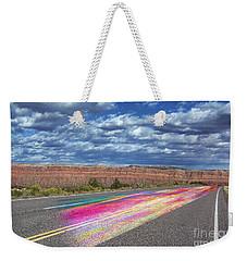 Walking With God Weekender Tote Bag by Margie Chapman