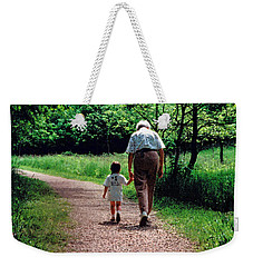 Walking With Grandma Weekender Tote Bag