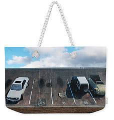 Wall Grabbers Weekender Tote Bag by Blue Sky