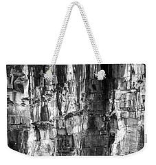 Weekender Tote Bag featuring the photograph Wall Of Rock by Miroslava Jurcik