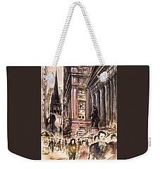 New York Wall Street - Fine Art Weekender Tote Bag