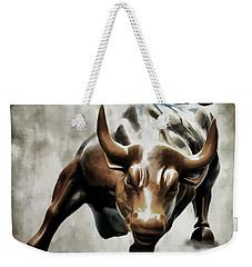 Wall Street Bull II Weekender Tote Bag