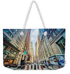 Wall Street Weekender Tote Bag