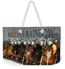 Wallin's Rainbow Weekender Tote Bag