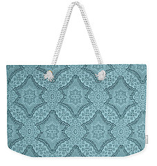 Wallpaper Blues Weekender Tote Bag by Liz  Alderdice