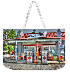 Wally's Service Station Weekender Tote Bag