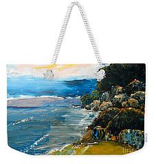 Walomwolla Beach Weekender Tote Bag by Pamela  Meredith