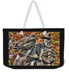 War Horses - Lieutenant General James Longstreet-a1 Commanding First Corps Autumn Gettysburg Weekender Tote Bag