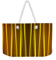 Warm Curtain Weekender Tote Bag