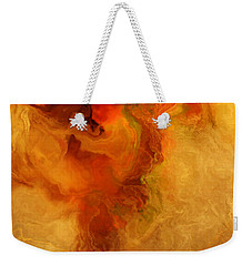 Warm Embrace - Abstract Art Weekender Tote Bag by Jaison Cianelli