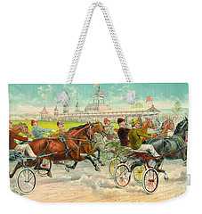 Warm-up Lap 1893 Weekender Tote Bag
