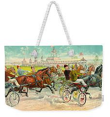 Warm-up Lap 1893 Weekender Tote Bag