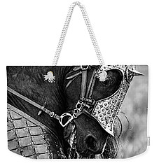 Warrior Horse Weekender Tote Bag by Wes and Dotty Weber