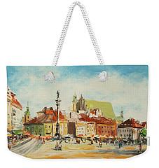 Warsaw- Castle Square Weekender Tote Bag