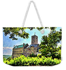 Weekender Tote Bag featuring the photograph Wartburg Castle - Eisenach Germany - 1 by Mark Madere