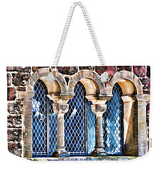 Weekender Tote Bag featuring the photograph Wartburg Castle - Eisenach Germany - 2 by Mark Madere