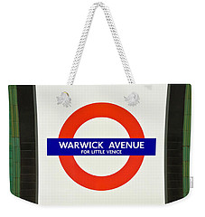 Warwick Station Weekender Tote Bag by Keith Armstrong