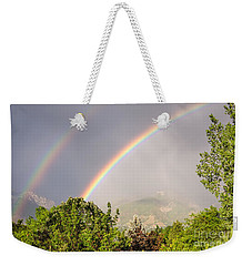 Wasatch Rainbow Weekender Tote Bag by Sue Smith