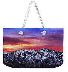 Wasatch Sunrise 2x1 Weekender Tote Bag