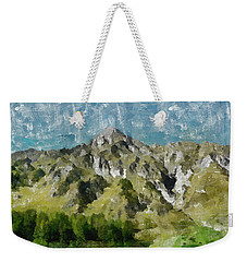 Washed Out Weekender Tote Bag by Ayse Deniz