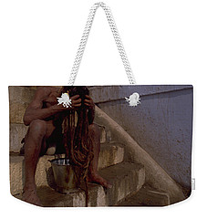 Varanasi Hair Wash Weekender Tote Bag