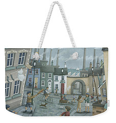 Washing Out And Playing Out Weekender Tote Bag