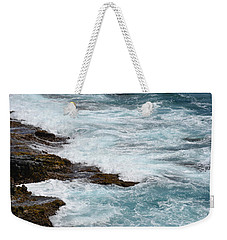 Washing Waves Weekender Tote Bag