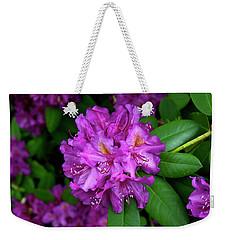 Washington Coastal Rhododendron Weekender Tote Bag