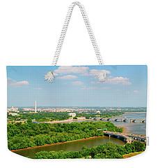 Washington D.c. Aerial View Weekender Tote Bag