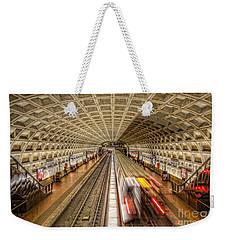 Washington Dc Metro Station Xi Weekender Tote Bag by Clarence Holmes