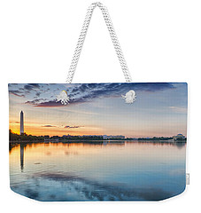Weekender Tote Bag featuring the photograph Washington Dc Panorama by Sebastian Musial