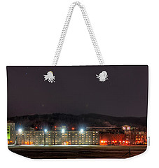 Washington Hall At Night Weekender Tote Bag by Dan McManus