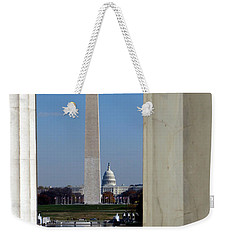 Washington Landmarks Weekender Tote Bag