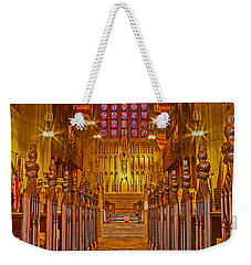 Washington Memorial Chapel Altar Weekender Tote Bag