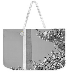 Washington Monument Amidst The Cherry Blossoms Weekender Tote Bag