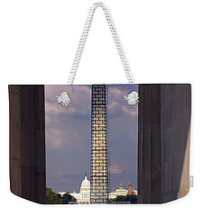 Washington Monument And Capitol 2 Weekender Tote Bag