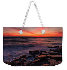 Washington Oaks Winter Sunrise Weekender Tote Bag