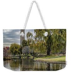 Washington Reflection Weekender Tote Bag