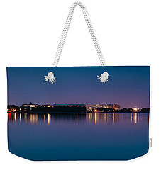 Weekender Tote Bag featuring the photograph Washington Skyline by Sebastian Musial