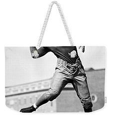 Washington State Quarterback Weekender Tote Bag by Underwood Archives
