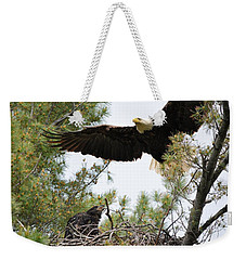 Watch Out Below Weekender Tote Bag