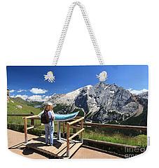 watching Marmolada mount Weekender Tote Bag